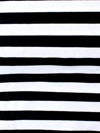Slash Neck Top Stripe