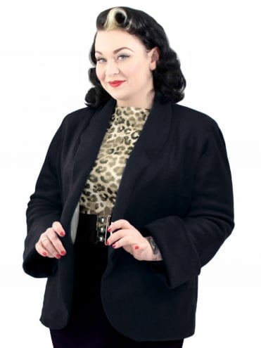 40s-1940s-Vivien-of-Holloway-Best-Vintage-Reproduction-Swagger-Jacket-Rockabilly-Pinup