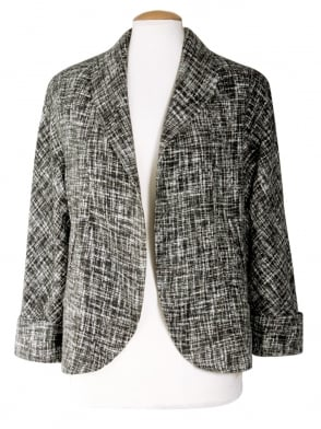 Swagger Jacket Grey Fleck