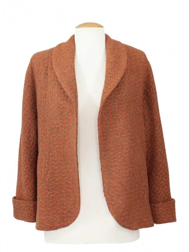 Swagger Jacket Orange Fleck