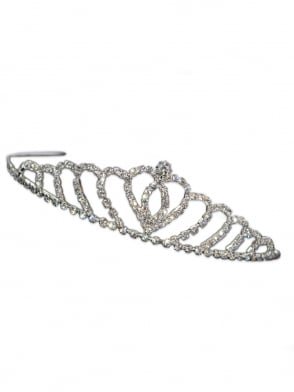 Sweetheart Diamante Tiara