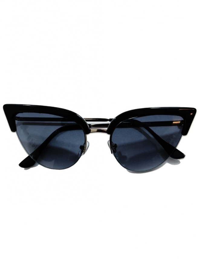 50s-1950s-Vivien-Holloway-Thunderbird-Sunglasses-Black-Best-Vintage-Style-Reproduction
