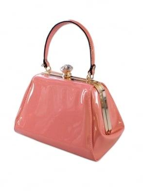 Tiffany Patent Handbag - Baby Pink