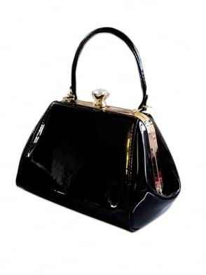 Tiffany Patent Handbag - Classic Black