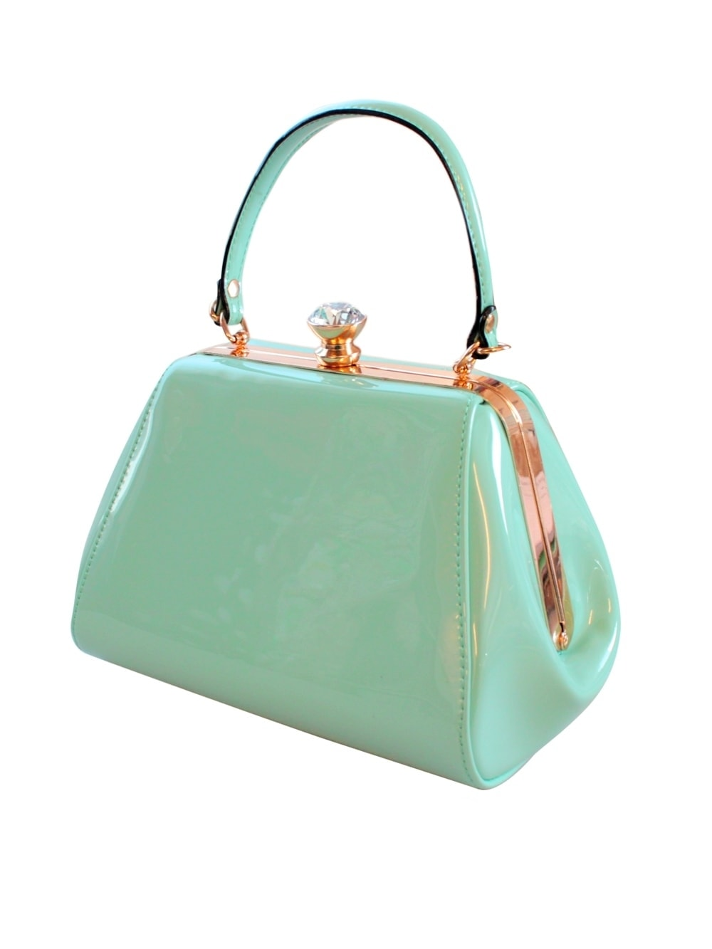 Tiffany Patent Handbag Mint From